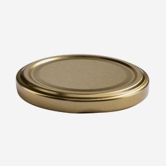 Twist Off Cap, ø70mm, gold
