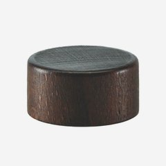 Wooden-Alum-Screw cap GPI 28, brown-stained