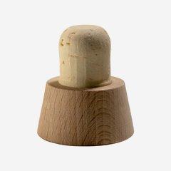 """Cork stopper natural """"Elvis"""", ø20mm"""