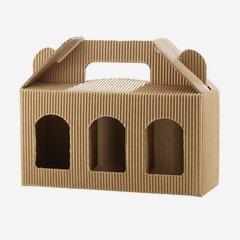 Jars cardboard box eCo-wave for 3 x Fac-192, brown