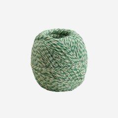 Yarn, green/white