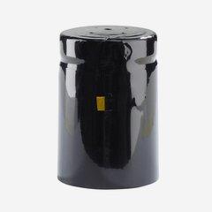 Shrink capsule ø32,8 x H50mm, shiny black
