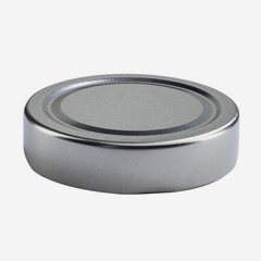 Twist Off Cap, ø66mm, Deep, silver