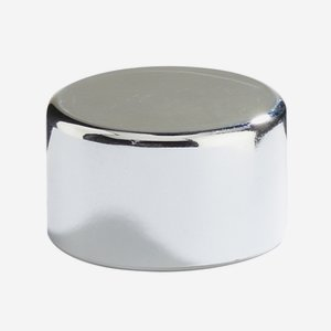 Aluminium-plastic composite screw cap 28mm, silver