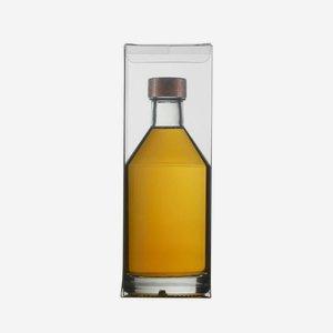 Gift box, transparent for 0,35l VIVA bottle