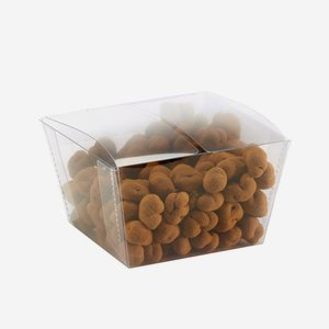 Clear Box small & rectangular – conical sides