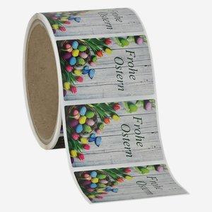 "Etikette ""Happy Easter"",  40x60mm"