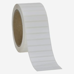 Label 10x50mm, white - high gloss