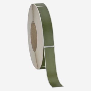 Label 25x120mm, olive-green