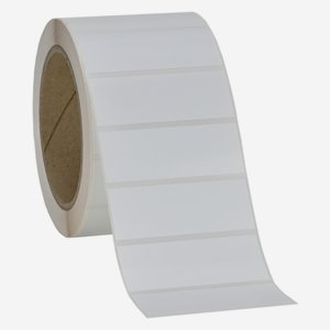 Label 25x69mm, white