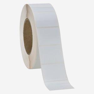 Label 30x50mm, white - glossy