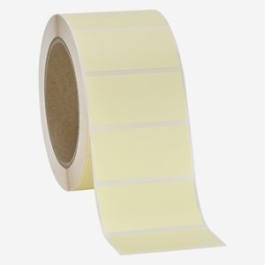 Label 30x60mm, light cream