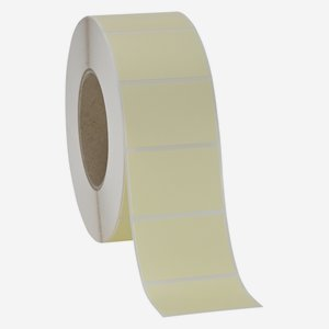 Label 60x40mm, light cream