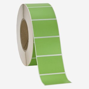 Label 60x40mm, green