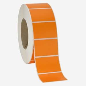 Label 60x40mm, orange