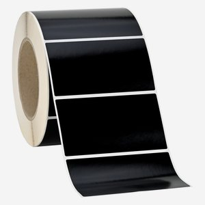 Label 55x99mm, black