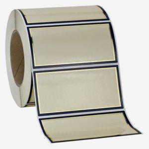 "Label series ""CLASSIC"", 60x120mm, blue"