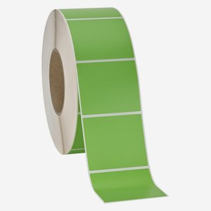 Label 60x70mm, green