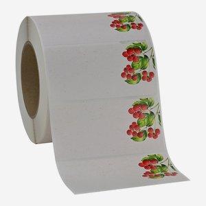 Label 114x55mm, raspberry
