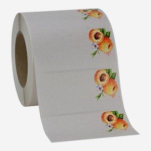 Label 114x55mm, apricot