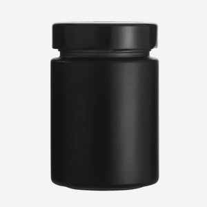 FACTUM jar 192ml, black matte, without window