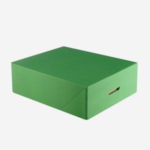 Cardboard box with lid, 470x390x150mm