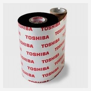 Printer ribbon 76mm x 400m, for SA4, black, AS1