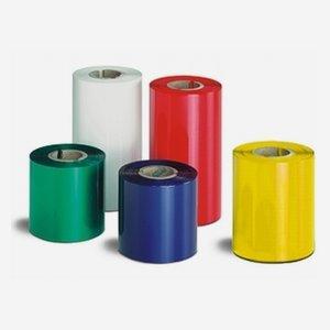 Printer ribbon 89mm x 300m, metallic white