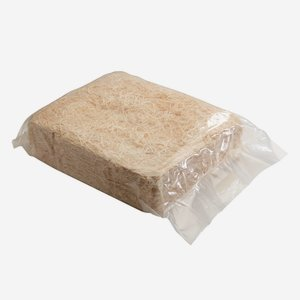 Excelsior medium fine, natural, 2,5 kg in PE-sack