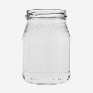 yoghurt jar, 250ml,  wide mouth: TO 63mm