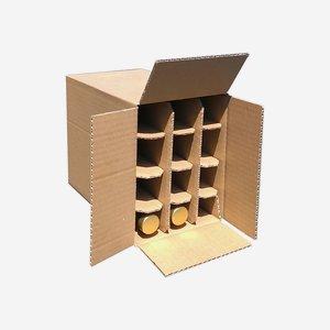 Packaging carton for 12 bottles Beg-100GPI