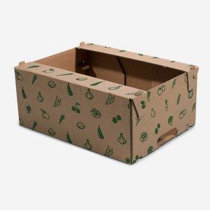 Harvest cardboard box 5kg, stackable