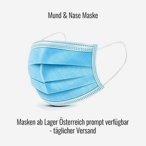 Mouth & nose mask, low cost 3L standard mask