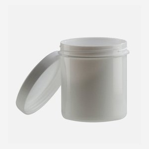 Salve jar 37ml, white, including screw cap
