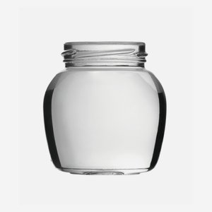 Sapore jar 212ml, white, wide mouth: TO 58