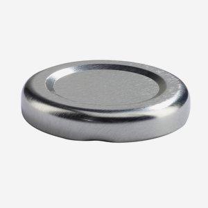 Twist Off Cap, ø43mm, silver