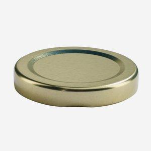 Twist Off Cap, ø48mm, gold