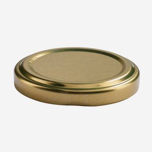 Twist Off Cap, ø53mm, gold