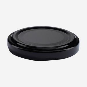 Twist Off Cap, ø53mm, black