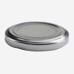 Twist Off Cap, ø58mm, silver