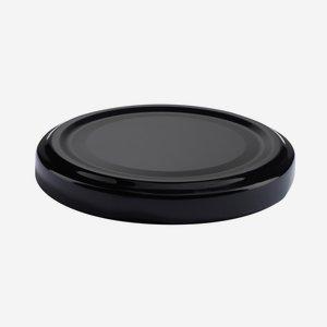 Twist Off Cap, ø63mm, black