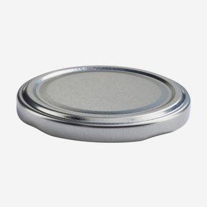 Twist Off Cap, ø70mm, silver