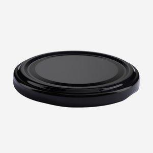 Twist Off Cap, ø70mm, black