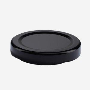 Twist Off Cap, ø48mm, black, C863