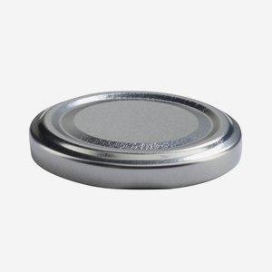 Twist Off Cap, ø58mm, silver, C863