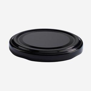 Twist Off Cap, ø66mm, black, C864