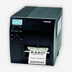 Toshiba B-EX4T2 Thermal transfer printer 300 DPI