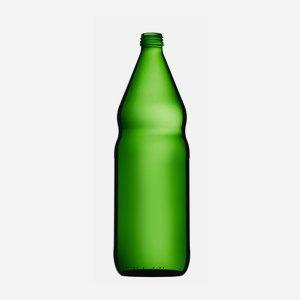 Oil bottle standard 1000ml, green, finish: MCA28