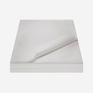 Fat paper, unprinted