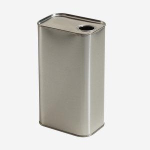 Oil Tin 1000ml, inside blank, outside blank